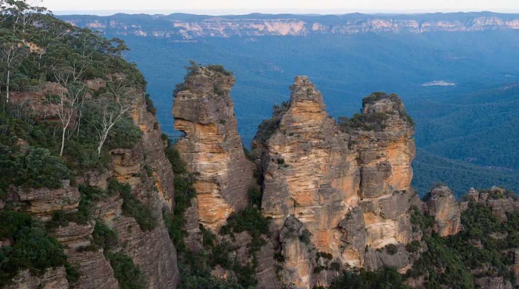 the three sisters blue mountains